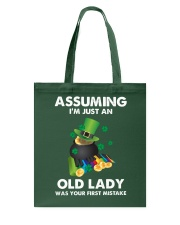 Assuming I'm Just an Old Lady Your First Mistake Tote Bag thumbnail