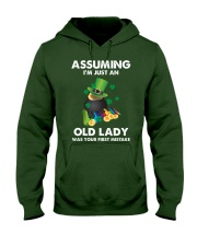 Assuming I'm Just an Old Lady Your First Mistake Hooded Sweatshirt thumbnail