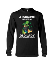 Assuming I'm Just an Old Lady Your First Mistake Long Sleeve Tee thumbnail