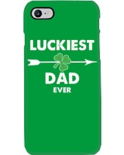Luckiest Dad ever Phone Case thumbnail