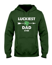 Luckiest Dad ever Hooded Sweatshirt thumbnail