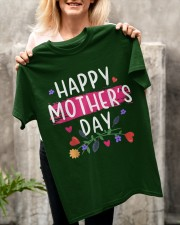Happy Mother's Day 2021 For Mom And Women Classic T-Shirt apparel-classic-tshirt-lifestyle-front-117