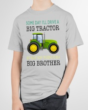 Toddler big brother Shirt with Tractor Youth T-Shirt garment-youth-tshirt-front-lifestyle-01