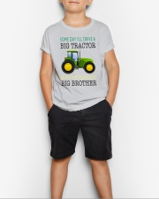 Toddler big brother Shirt with Tractor Youth T-Shirt lifestyle-youth-tshirt-front-1