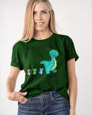 Mimisaurus like a normal grandma but more Classic T-Shirt apparel-classic-tshirt-lifestyle-front-100