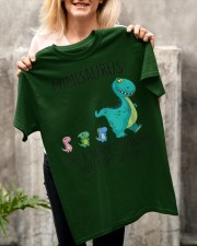 Mimisaurus like a normal grandma but more Classic T-Shirt apparel-classic-tshirt-lifestyle-front-117