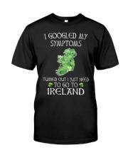 I Googled My Symptoms Ireland Premium Fit Mens Tee thumbnail