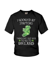 I Googled My Symptoms Ireland Youth T-Shirt tile
