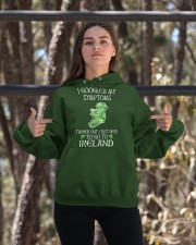 I Googled My Symptoms Ireland Hooded Sweatshirt apparel-hooded-sweatshirt-lifestyle-05