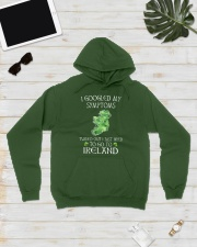 I Googled My Symptoms Ireland Hooded Sweatshirt lifestyle-unisex-hoodie-front-8