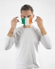 Ireland Flag Cloth Face Mask - 10 Pack aos-face-mask-lifestyle-08