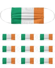 Ireland Flag Cloth Face Mask - 10 Pack front
