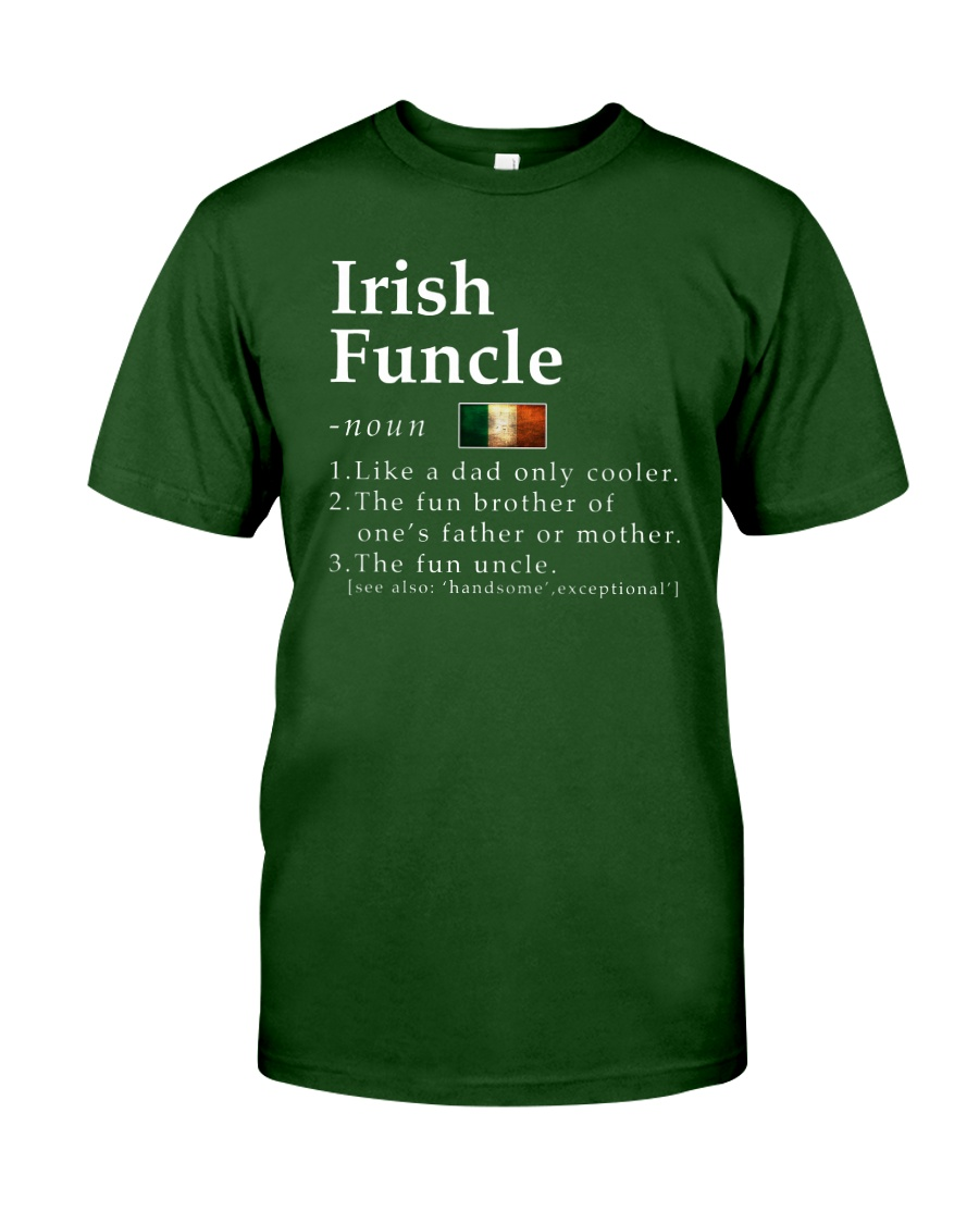 Irish Funcle Classic T-Shirt