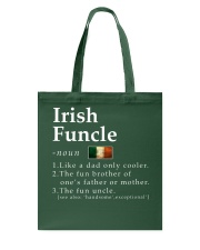 Irish Funcle Tote Bag tile