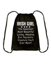 Irish Girl Drawstring Bag thumbnail