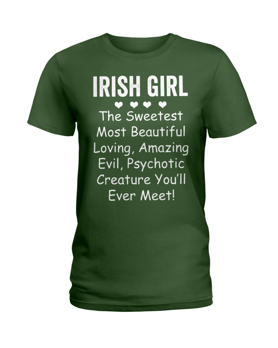 Irish Girl Ladies T-Shirt