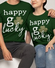 Happy Go Lucky Classic T-Shirt apparel-classic-tshirt-lifestyle-front-121