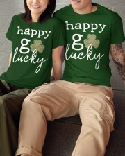 Happy Go Lucky Classic T-Shirt apparel-classic-tshirt-lifestyle-front-148