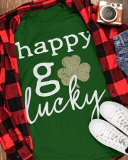 Happy Go Lucky Classic T-Shirt apparel-classic-tshirt-lifestyle-front-163