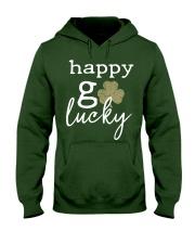 Happy Go Lucky Hooded Sweatshirt thumbnail