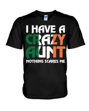 I have a crazy irish aunt V-Neck T-Shirt thumbnail