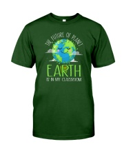 Earth Day Teachers 2021 Classroom Funny T-Shirt Classic T-Shirt front