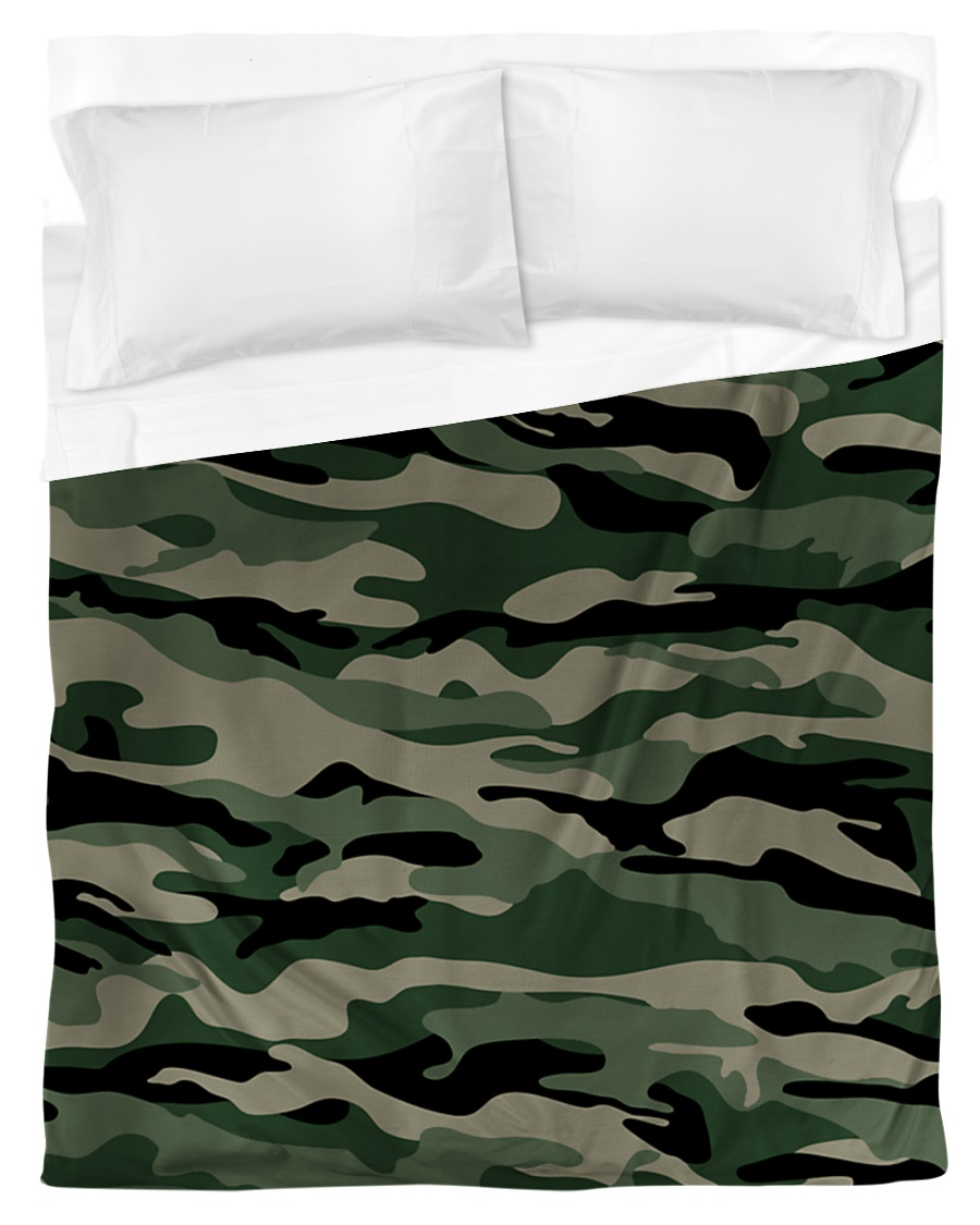 MILITARY DUVET COVER Duvet Cover - Twin
