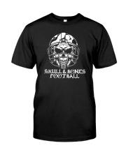 Skull and Bones Football Classic T-Shirt thumbnail