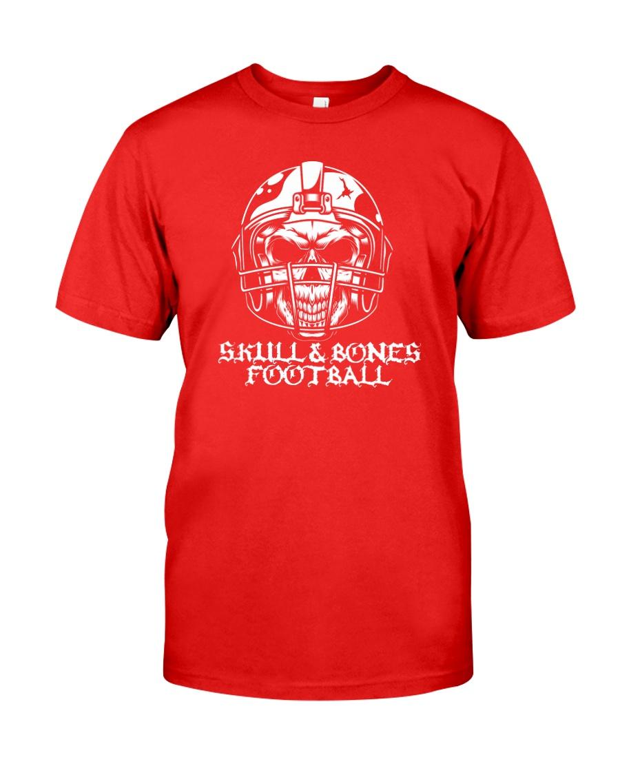 Skull and Bones Football Classic T-Shirt