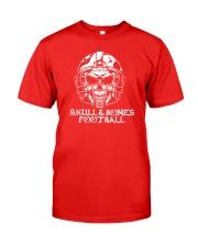 Skull and Bones Football Classic T-Shirt front