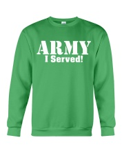 Army: I served Crewneck Sweatshirt thumbnail