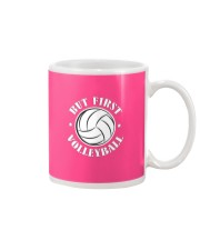 But First: Volleyball Mug front