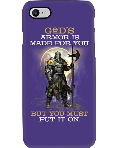 GOD'S armor is made for you