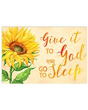 Give it To GOD and go to sleep 17x11 Poster front