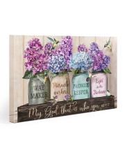Way Maker Lyrics Gallery Wrapped Canvas Prints tile