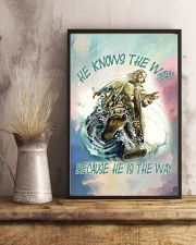 He Knows The Way Because He Is The Way 11x17 Poster lifestyle-poster-3