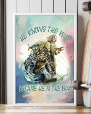 He Knows The Way Because He Is The Way 11x17 Poster lifestyle-poster-4