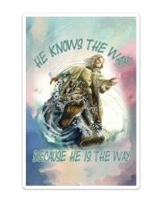 He Knows The Way Because He Is The Way Sticker - Single (Vertical) thumbnail
