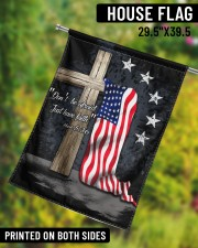 "Don't be afraid just have faith 29.5""x39.5"" House Flag aos-house-flag-29-5-x-39-5-ghosted-lifestyle-10"