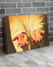 Give me your hand 24x16 Gallery Wrapped Canvas Prints aos-canvas-pgw-24x16-lifestyle-front-06