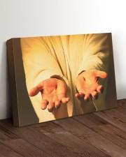 Give me your hand 24x16 Gallery Wrapped Canvas Prints aos-canvas-pgw-24x16-lifestyle-front-11