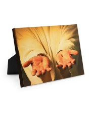 Give me your hand 10x8 Easel-Back Gallery Wrapped Canvas thumbnail