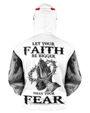 Let Your Faith Be Bigger Than Your Fear Men's All Over Print Hoodie aos-men-hoodie-ghosted-back-03