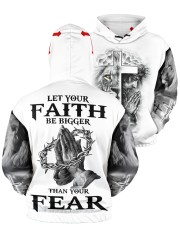 Let Your Faith Be Bigger Than Your Fear Men's All Over Print Hoodie aos-men-hoodie-ghosted-front-05