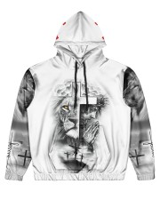 Let Your Faith Be Bigger Than Your Fear Men's All Over Print Hoodie front