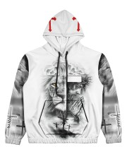 Let Your Faith Be Bigger Than Your Fear Women's All Over Print Hoodie tile