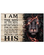 I am the Son of the King 36x24 Poster front