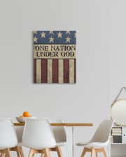 One Nation Under God 16x20 Gallery Wrapped Canvas Prints aos-canvas-pgw-16x20-lifestyle-front-05
