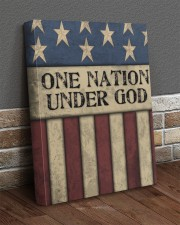 One Nation Under God 16x20 Gallery Wrapped Canvas Prints aos-canvas-pgw-16x20-lifestyle-front-10