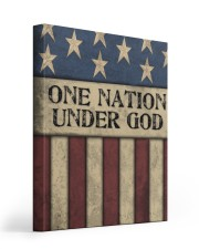 One Nation Under God 16x20 Gallery Wrapped Canvas Prints front